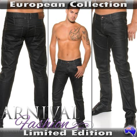 new shiny black for casual wear mens fashion