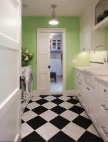 Best Flooring For Laundry Room Laundry Room Black White Flooring Ideas Home Interiors