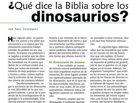 mensajes subliminales que dice la biblia 191 qu 233 dice la biblia acerca de los dinosaurios taringa