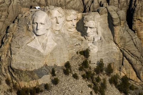 mount rushmore work begins on mount rushmore sculptures oct 4 1927