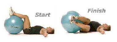 website  fitball exercises  abs legs glutes shoulders  chest fitball