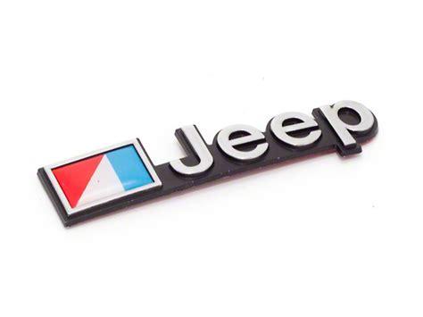 Omix Ada Wrangler Stick On Jeep Emblem Dmc 5451627 87 90