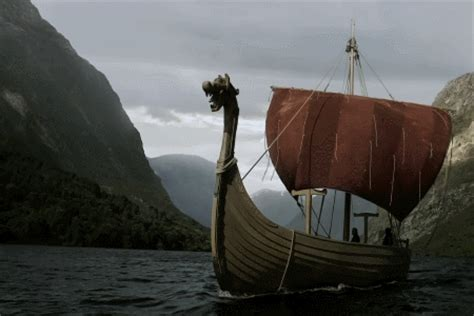 viking longboat game my gifs mine vikings ragnar lothbrok floki longship
