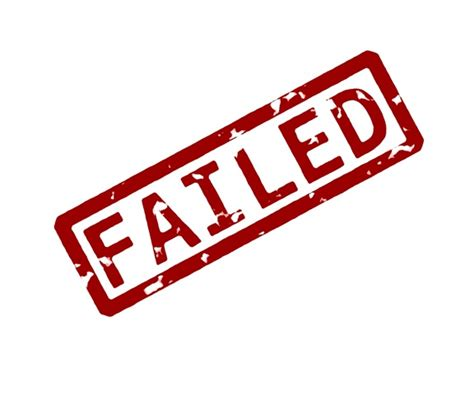 failed it how to i failed some plans and i need to try harder teracy s blog