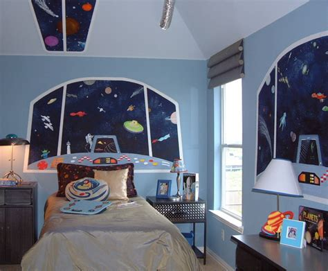 space themed bedroom space room decor space theme room glow in the dark