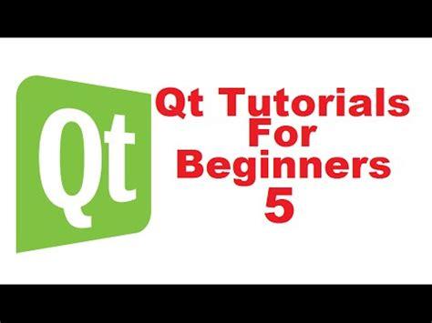 qt tutorial signals and slots qt tutorials for beginners 5 qt signal and slots youtube