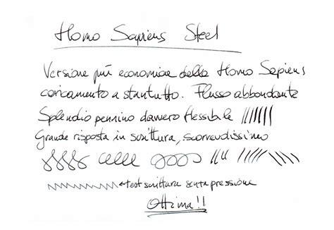 test calligrafia recensioni di piccardi casa della stilografica