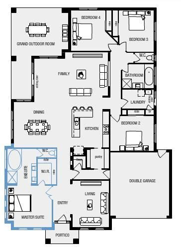 Floor Plans For Bedroom With Ensuite Bathroom by Ideal Floor Plan Large Master Bedroom With Ensuite And