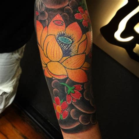 japanese tattoo flower seasons japanese flowers tattoo names and their meanings tattoo