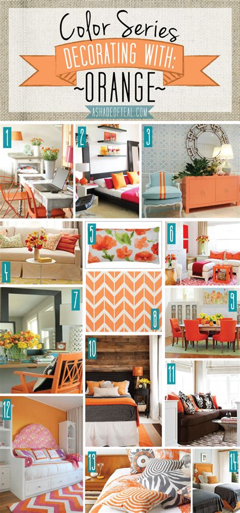 17 best images about orange home decor and art on color series decorating with orange