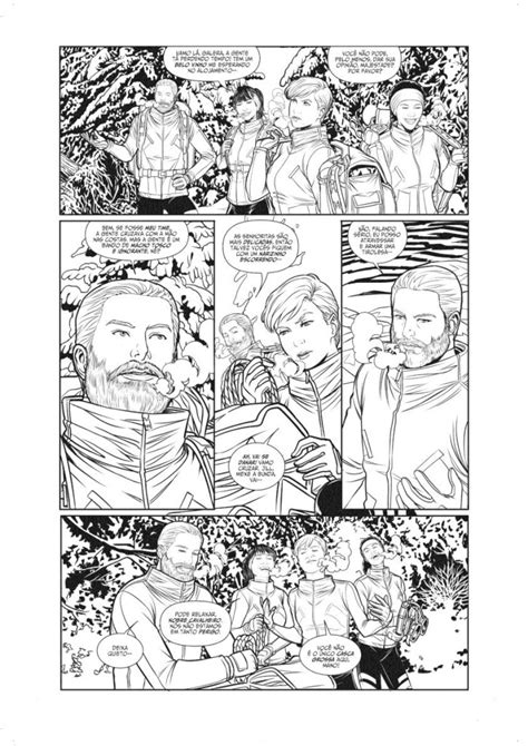 Ator Felipe Folgosi lança Comunhão, sua nova graphic novel