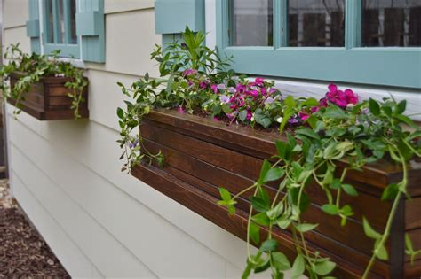 window flower box design get ready for with window boxes