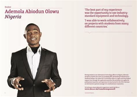 Sheffield Hallam Mba With Placement meet with sheffield hallam mba reps in lagos realize