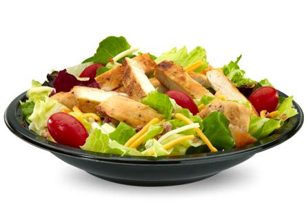 Grilled Chicken Salad Mcdonalds Vs Wendys by Fast Food Menu Items 300 Calories