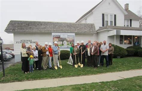 rensselaer adventures groundbreaking for the steinke