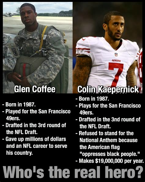 Kaepernick Meme - as kaepernick sits during the nat l anthem this former