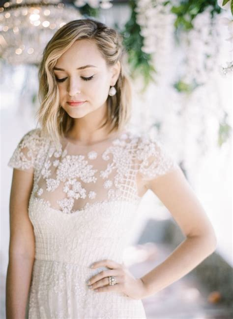 bridal shower hairstyles best 25 bob wedding hairstyles ideas on pinterest