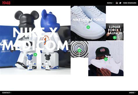 shoe websites 20 bold and beautiful websites webdesigner depot