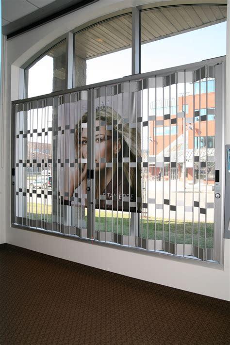 folding window grille