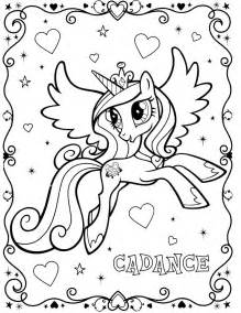 princess cadence coloring pages my pony coloring pages princess cadence coloring home