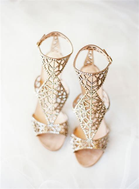 Gold Heels For Wedding by Best 25 Gold Bridal Shoes Ideas On Gold