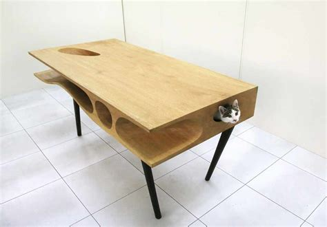cat table constantly satisfying a cat s curiosity catable by ruan