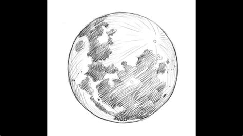 Sketches Moon by How To Draw The Moon