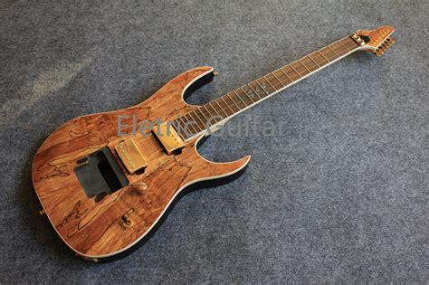 Handmade Electric Guitars For Sale - custom shop electric guitar kit nature wood grain finish
