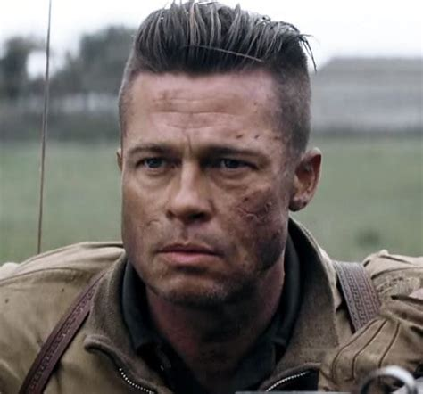brad pitt s fury haircut a stylish undercut gallery how to get brad pitt s fury hairstyle many more cool