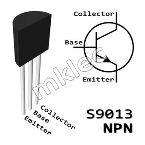 datasheet transistor npn 9013 s9013 npn transistor