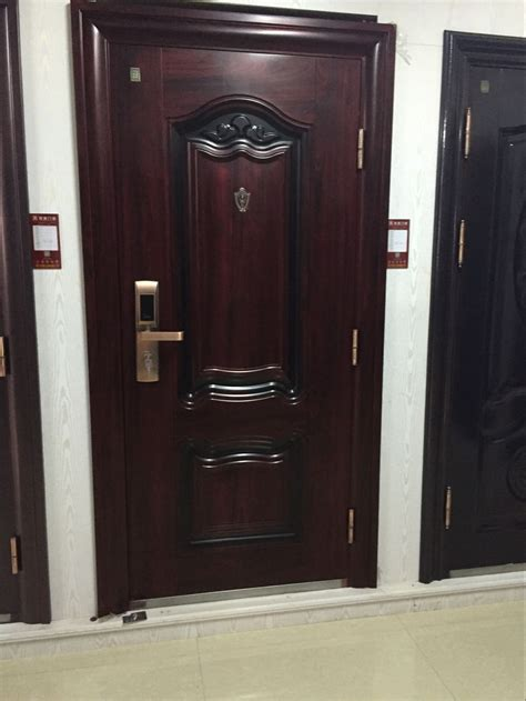 charming wooden safety door designs images gallery