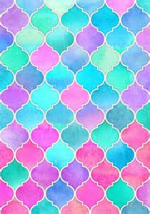 quot bright moroccan morning pretty pastel color pattern quot by