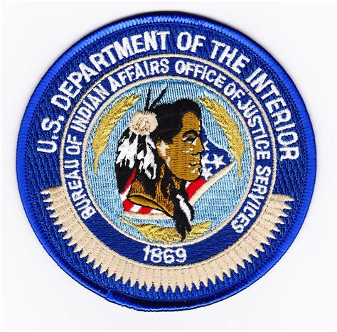interior bureau of indian affairs fed bureau of indian affairs office of justice services