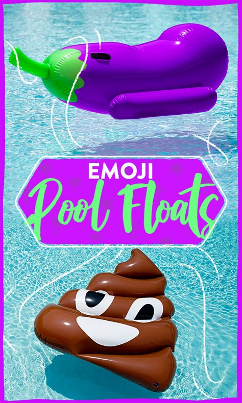 emoji pool floats will help you properly express yourself