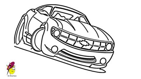 kid race car drawing racing car chevy camaro car drawings how to draw a car