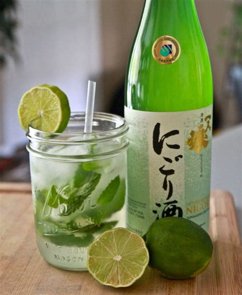 mojito cocktail bottle 104 best la via del sake sake do italy images on