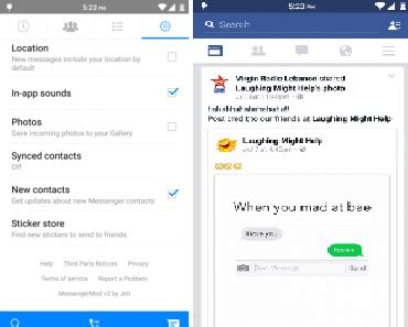 fb lite full version apk fb messenger mod original versi 68 0 0 37 59 apk