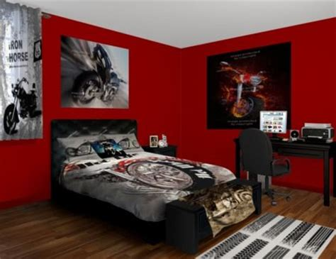 Boys Bedroom Decorating Ideas Motorcycle Bedroom Boys Bedroom Ideas Pinterest