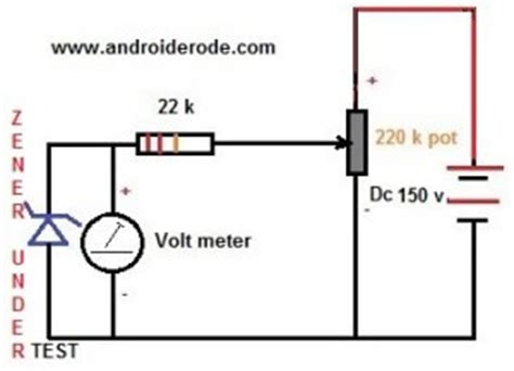 how to check a zener diode with digital multimeter how test a zener diode