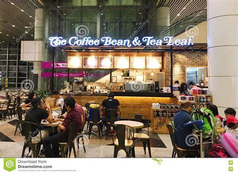 Coffee Bean Malaysia kuala lumpur malaysia 29 nov 2016 the coffee bean tea leaf editorial image image of