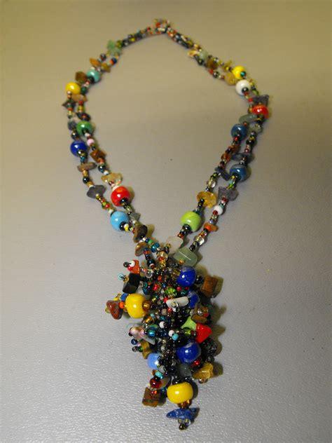 guatemalan beaded necklaces guatemalan artisan crafted glass bead necklace 1