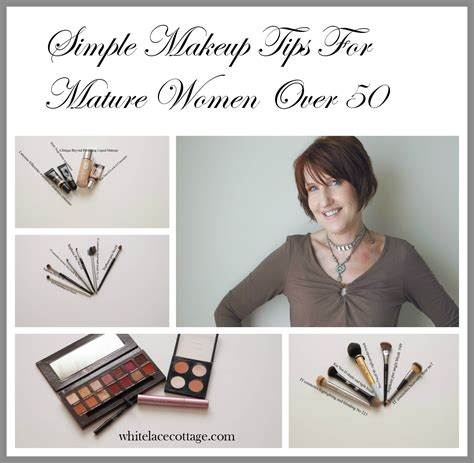 makeover tips simple makeup tips for mature women over 50 white lace