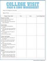 pros and cons worksheet template college visit checklist worksheet familyeducation