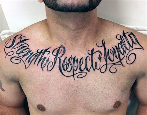 respect tattoos 50 loyalty tattoos for faithful ink design ideas