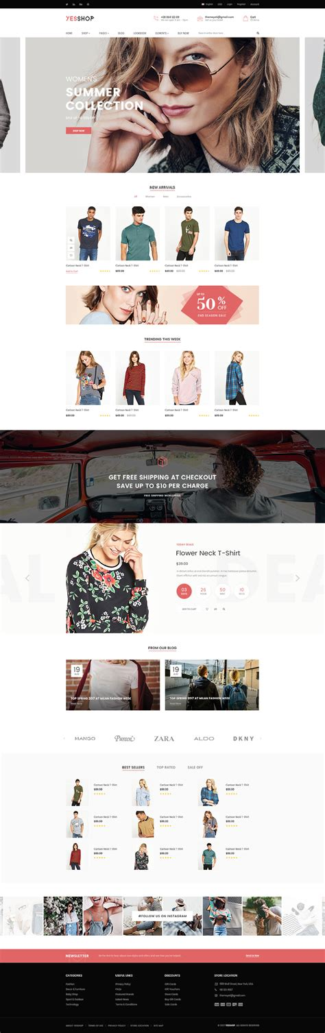 a s purpose preview yesshop responsive multi purpose shopify theme fashion clothing minimal glasses
