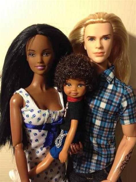 black doll family mixed race family so mixed babies