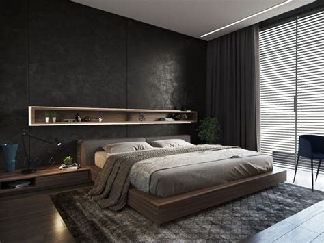 ukrainian bachelor pad blends both light and - Modern Bachelor Pad Bedroom