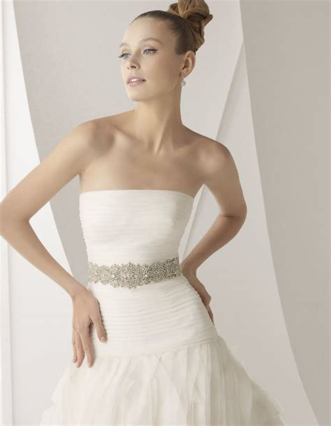 rosa clara 2012 bridal gowns lace luxury sleeved