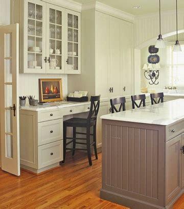 kitchen desks built in it or leave it the built in kitchen desk