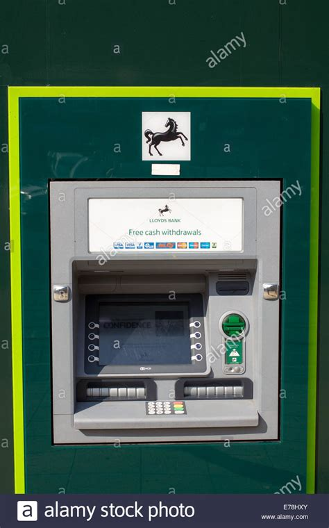 reset tsb online banking lloyds tsb atm cash machine stock photo royalty free